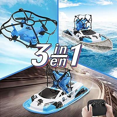 Maayun Coches teledirigidos Coche RC Mini Drones Drone/Barco/Barco ...