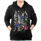 Men Anime Characters Digimon Adventure Tri. Full Zip Hooded Sweatshirt Pullover