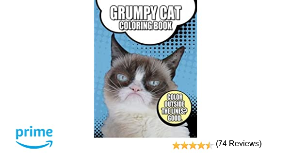 Grumpy Cat Coloring Book Dover Books For Children