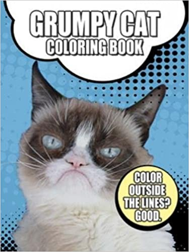 Grumpy Cat Coloring Book Dover Coloring Books For Children Grumpy