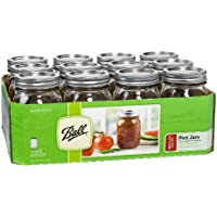 12-Pack Ball Regular-Mouth Jars
