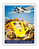 Pacifica Island Art Deutsche Lufthansa German