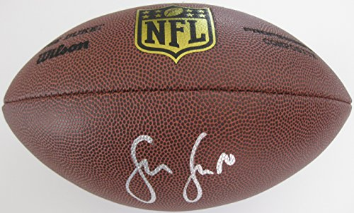 Sean Lee, Dallas Cowboys, Penn State, Signed, Autographed, NFL Duke Football, a COA with the Proof Photo of Sean Signing Will Be Included with the Football