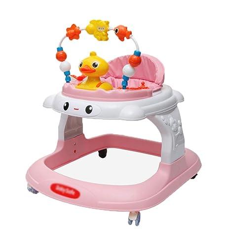 LMSTC Andador para bebés, antivuelco multifunción de 8 a 12 meses ...