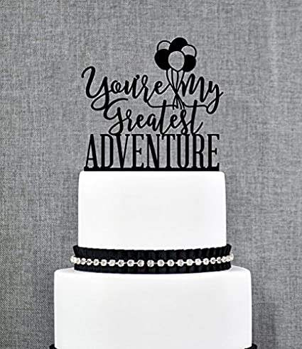 Up Cake Topper Greatest Adventure Up Themed Wedding Up Movie