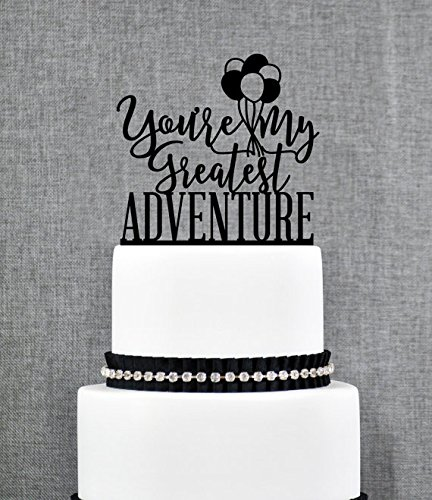 Up Cake Topper, Greatest Adventure, Up Themed Wedding, Up Movie, Balloon Cake Topper, Wedding Cake Topper, Cake Topper?