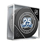 Inglasco NHL Tampa Bay Lightning Regular Season 960T 2018 Official Game Puck, One Size, Black