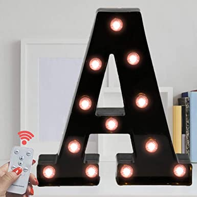Threshold Marquee Light Letter X Decoration