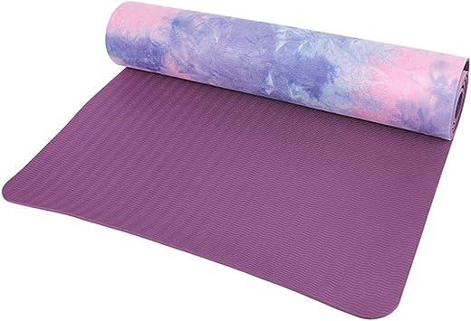 Antideslizante Esterilla para Yoga y Fitness de Belleashy