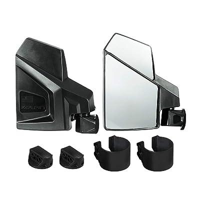 Kolpin UTV Side Mirror - Pair - 98315,Black: Automotive
