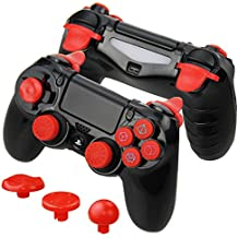 Connyam FPS and CQC Performance Kit for Sony PS4 DualShock 4 Controller, Perfect for Call of Duty, Destiny, Fallout, Battlefield, Monster Hunter World, Shadow of the Colossus and more Games!