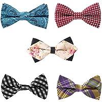 Adjustable Men's Bow Tie Mixed Design Pre-tied Bowtie More Color Options By Avant Men