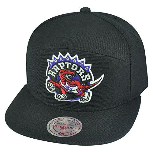 NBA Mitchell Ness Toronto Raptors NG75Z Horizontal Basic Snapback Camper Hat Cap