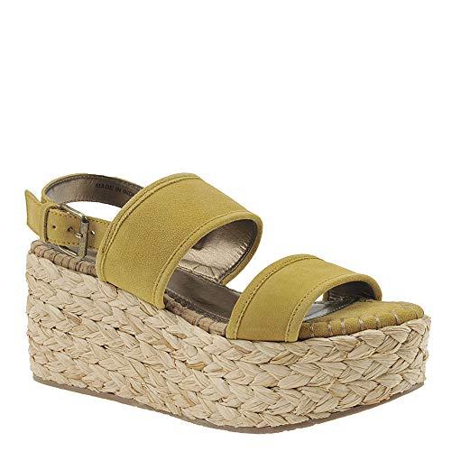 Naughty Monkey Wovenluv Women's Sandal 6.5 B(M) US Mustard