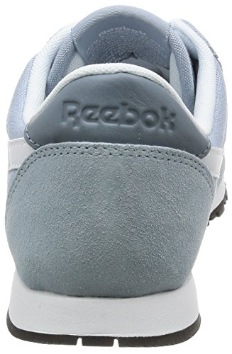 Slim White Reebok Sneakers Grey Nylon Hv Grey Cl WoMen Stonewash tSSqpF