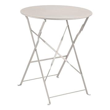 Truffaut Table Ronde D.60cm : Calcaire: Amazon.fr: Jardin