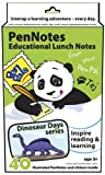 PenPal Notes:Educational Lunch Notes - Dinosaur Days