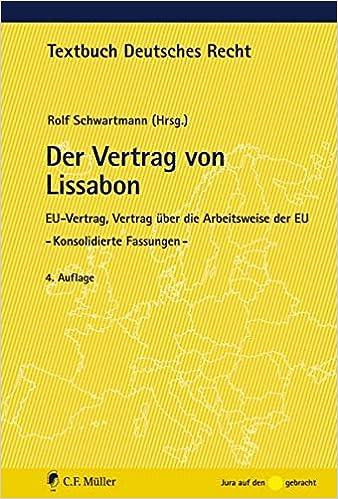 Der Vertrag Von Lissabon Eu Vertrag Vertrag über Die Arbeitsweise