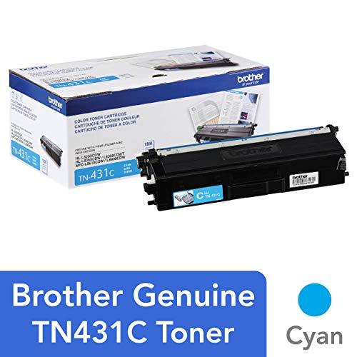 (Brother Printer TN431C Standard Yield Toner-Retail Packaging , Cyan)