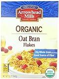 Arrowhead Mills Organic Cereal, Oat Bran Flakes, 12 oz. (Pack of 4)