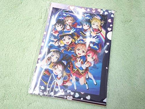 未開 ラブライブ!サンシャイン!! Aqours 2nd HAPPY PARTY TRAIN TOUR Blu-ray購入特典ヨドバシカメラ A5クリアファイル 10枚セット