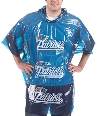 Amazon.com: NFL con capucha Poncho: Clothing