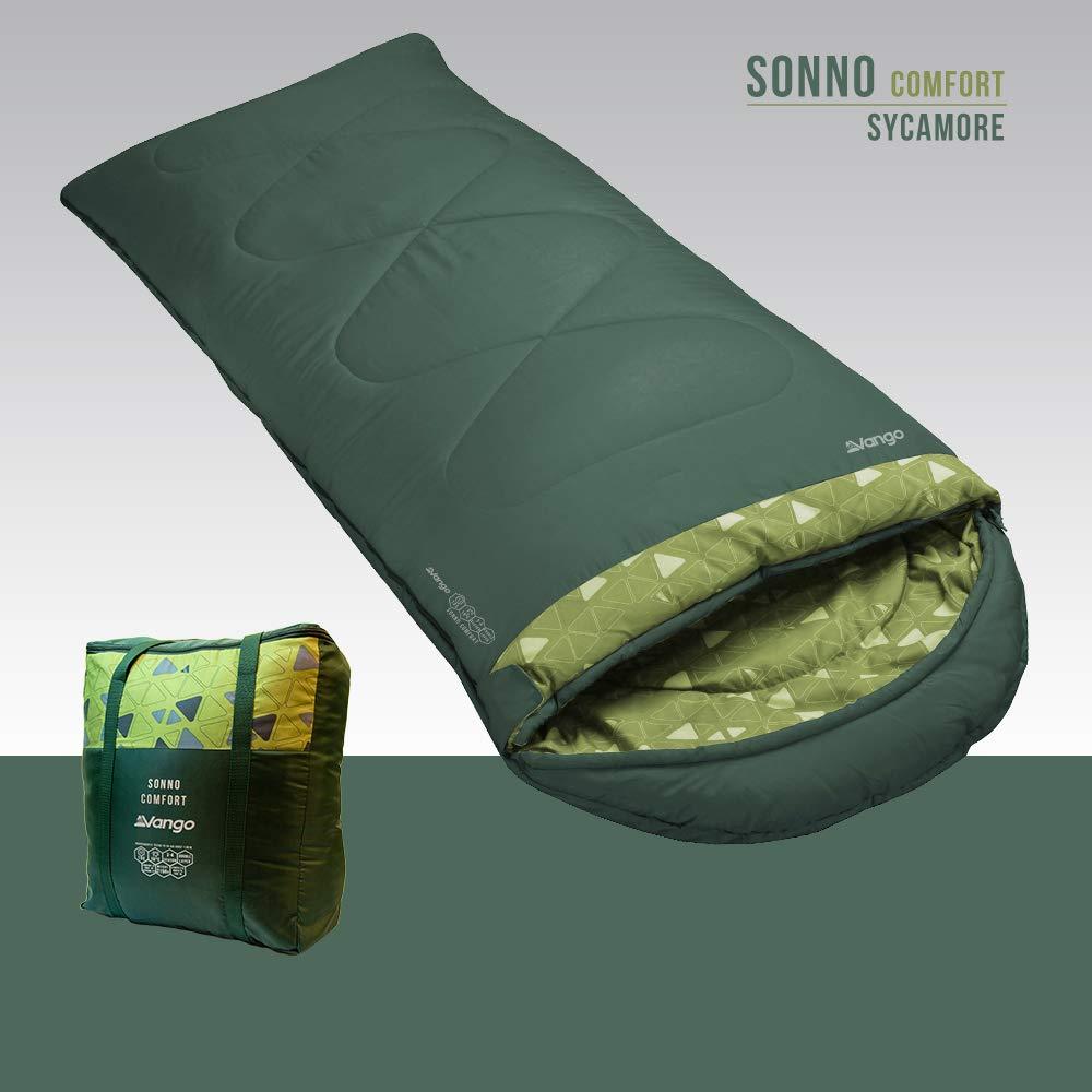 Vango Sonno Comfort Sleeping Bag Unisex Verde Talla /Única