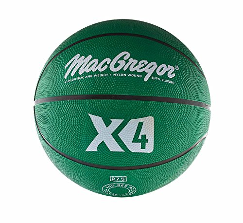 MacGregor Rubber Junior Basketball (Green) Colored Basketballs