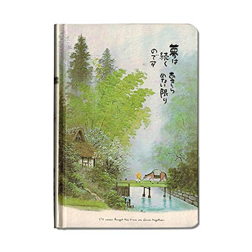 - YYQ 32K Small Fresh Chinese Style Beautiful Hand-Painted Illustration Student Hand Book Heart Classical Art Gift Student Supplies