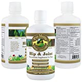 Pro Mutts Hip & Joint Liquid Glucosamine Supplement for Dogs. 32 fl oz. Glucosamine, Chondroitin, MSM and Hyaluronic Acid. Natural Arthritis and Hip Dysplasia Pain Relief, Great Mobility, Shiny Coat.