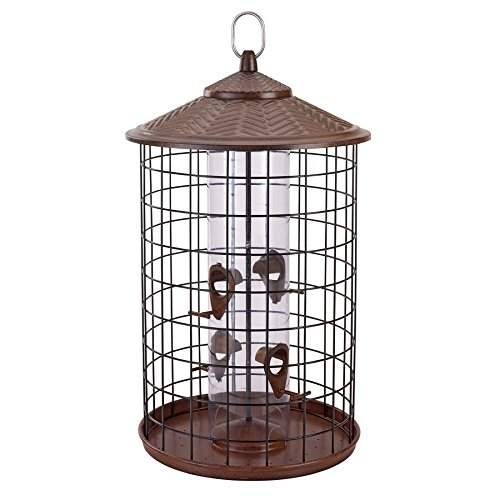 Belle Fleur - Bird Feeders 50153 Bird Feeder, Brown