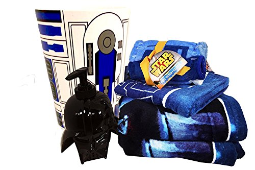 star wars bathroom set