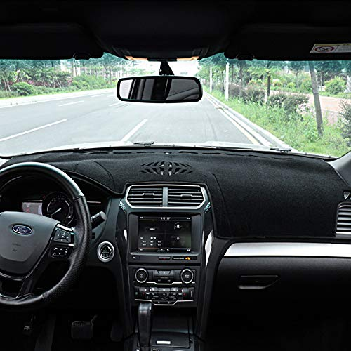 Ford Explorer Dashboard Cover Dash Pad Car Mat Carpet Sun Shade for Ford Explorer 2011 2012 2013 2014 2015 2016 2017 - Dash Explorer