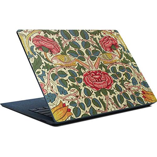 Skinit William Morris Surface Laptop Skin - Rose by William Morris Design - Ultra Thin, Lightweight Vinyl Decal Protection