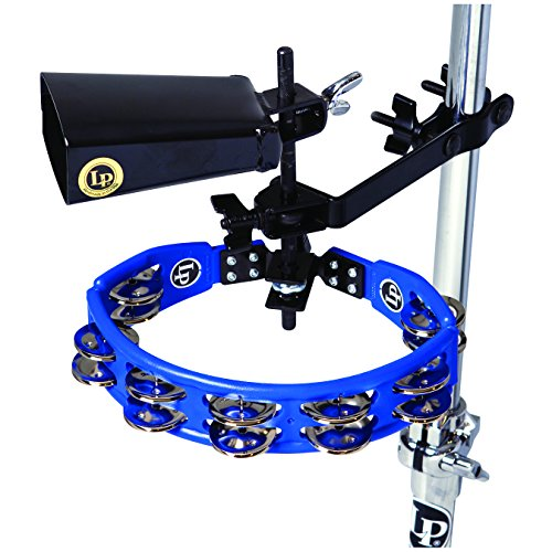 Latin Percussion LP160NY-K Tambourine and Cowbell with Mount Kit
