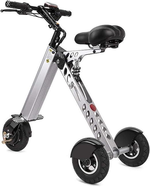 ANYWN Bicicleta Plegable eléctrica, Bicicleta eléctrica 250W ...