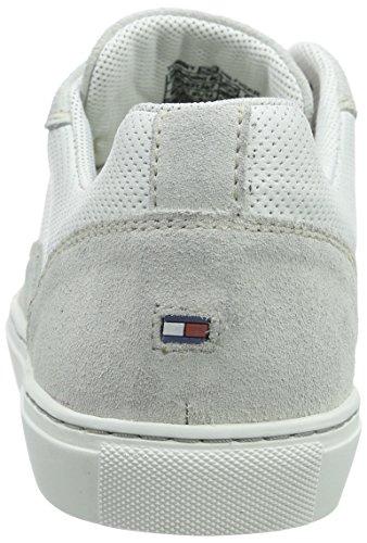 Tommy Blanc Baskets M2285ount Homme Hilfiger 8c 100 Blanc Basses TTAwpqWn