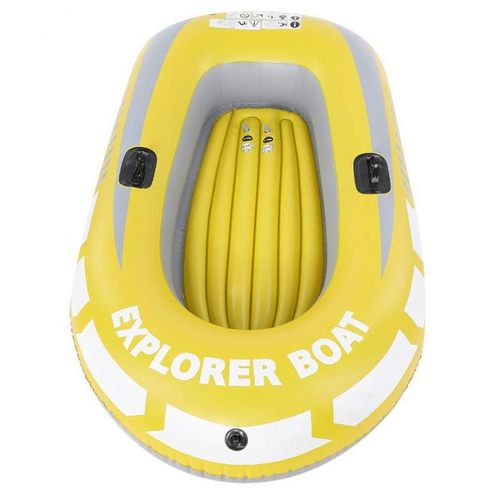 HYYQG 1/2 Persona Kayak Canoa Inflable 90kg Remo De Aire ...