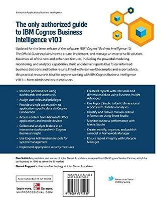 ibm cognos business intelligence 10 the official guide high quality rh suntrip thomas pollet fr IBM Cognos 11 Cognos 10.2.1