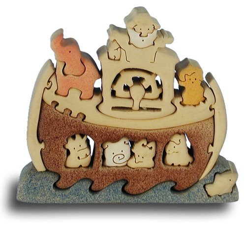Noah's Ark - Handcrafted Wooden Puzzle by Quay