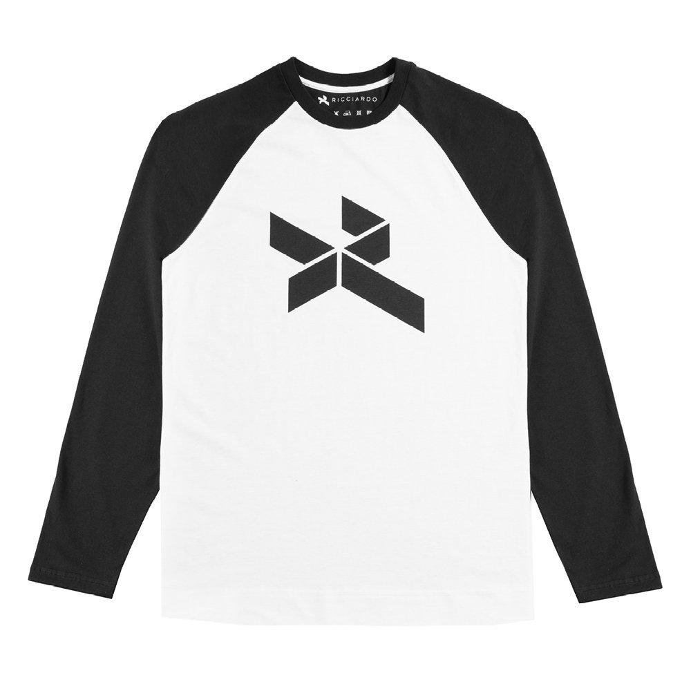 新しいスタイル 【予約商品 新品】 ブラック ダニエルリカルド 2017年 公式 オリジナルロゴ入り シャツ ロングスリーブ シャツ 長袖 ブラック 黒 メンズ new 新品 Small B0744G86N5, SOHO Partner:bcdb3039 --- irlandskayaliteratura.org