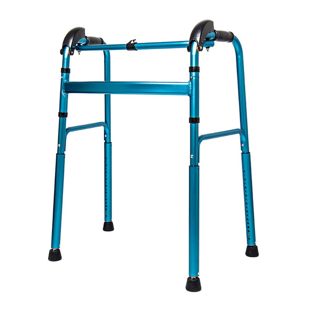 XXHDEE Walker Assisted Walker Elderly Up and Down Stairs Blue Lower Limb Training Uphill Slope Climber Walking aids by XXHDEE