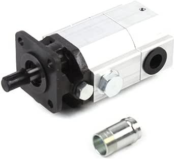 16 GPM 2 Stage Hydraulic Log Splitter Pump, Hi Lo Gear Pump Hydraulic Pump Replacement Log Splitter Hydraulic Pump Kit, 3600RPM 62L/min Flow Rate
