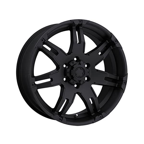 Ultra-238B-Gauntlet-18×9-6×1397-25mm-Matte-Black-Wheel-Rim