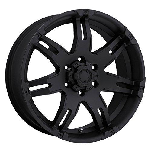 Ultra 238B Gauntlet 18x9 6x139.7 +25mm Matte Black Wheel Rim (2007 Chevy Tahoe Rims compare prices)