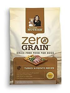 Rachael Ray Nutrish Zero Grain Natural Dry Dog Food, Turkey & Potato Recipe 3.15 lbs