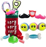 Christmas Stockings for Dogs – GIVE Your Puppy The Best PET Stocking Stuffers for Dogs and Puppies – Interactive Balls, TUG Toy, Dog Treats, Dog Brush, Dog Rope Toy Review
