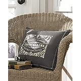 Tommy Bahama Bahamian Breeze Logo Print Decorative Pillow