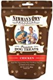 Newman's Own Organics Dog Treats for Medium Sized Dogs, Chicken, 10-Ounce Bags (Pack of 6), My Pet Supplies