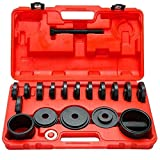 TBvechi 23Pcs FWD Front Wheel Drive Bearing Adapters Puller Press Replacement Installer Removal Tool Kit